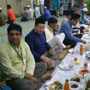 Iftar Party (2016) with Assyakirin Mosque Commmittee